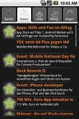 mobileTicker for Android - Headlines