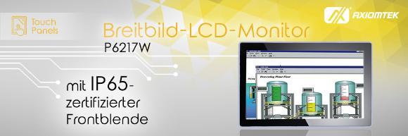 AXIOMTEKs Breitbild-LCD-Monitor für die Industrie