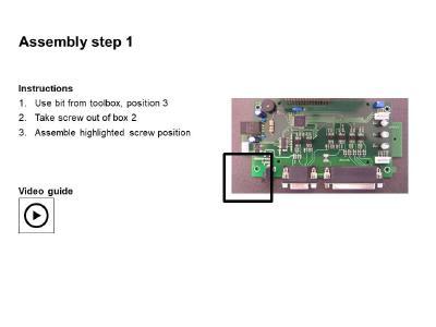 Digital assembly instructions