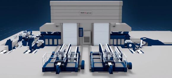 Design concept of a CCM® (Compact Cold Mill) by SMS group
