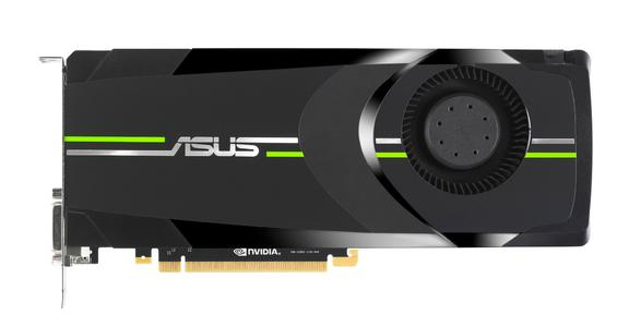 PR ASUS GTX 680 Graphics Card top view