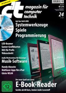 Titelbild der aktuellen c't-Ausgabe 24/2011