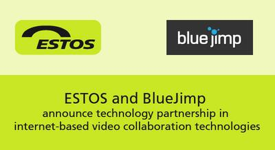 WebRTC: ESTOS and BlueJimp announce technology partnership in Internet-based video collaboration technologies