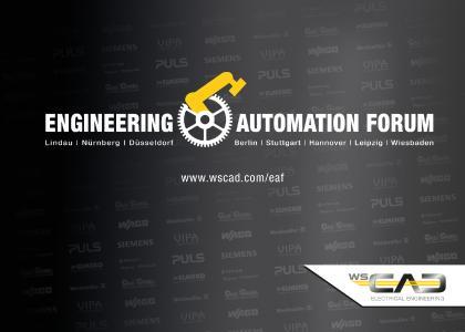 Das WSCAD Engineering & Automation Forum findet dieses Jahr von Mai bis Oktober in acht ausgewählten Städten quer durch Deutschland statt