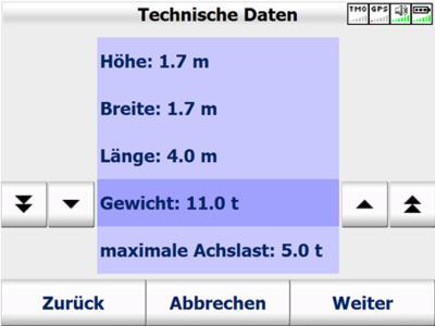 Map&Guide Truck Navigator : LKW Profil