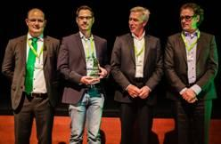 "Controlware erhält Veeam Award ""Fastest Growth of the Year 2015"""