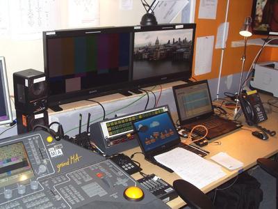 Bei Sportproduktionen gefragt: Der Sony OLED-Monitor PVM-2541
