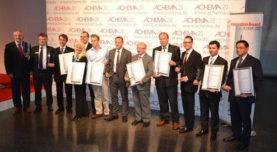 Die Gewinner des Innovation-Award 2012