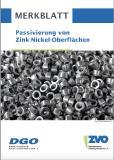 Merkblatt Passivierung von Zink-Nickel-Oberflächen