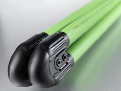 ie Erdwärmesonde RAUGEO PE-Xa green erfüllt als erste auf dem Markt die strengen Anforderungen des TÜV SÜD