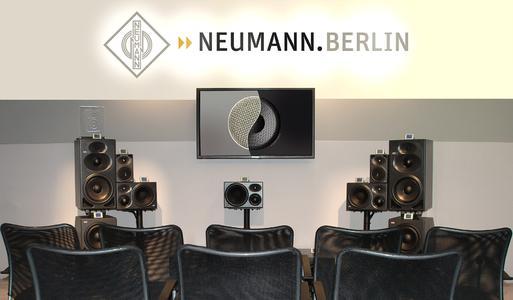 Noch etwas ungewohnt: Lautsprecher-Demos bei Neumann
