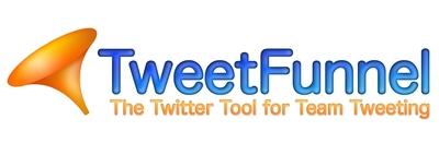 TweetFunnel - The Twitter Tool for Team Tweeting
