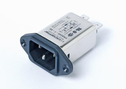 New EMC/EMI filters with IEC inlet to meet the requirement for high attenuation performance