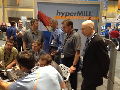 hyperMILL® demo at IMTS, Image source: OPEN MIND