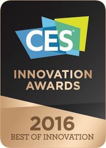 Bild LG CES 2016 Best of Innovation logo