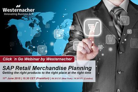 SAP Retail Merchandise Planning