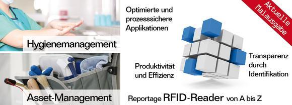 """Spezialausgabe von """"RFID im Blick"""": RFID-Reader und RFID-Systemintegratoren"""