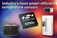 Silicon Labs präsentiert neue Ultra-Low-Power Temperatursensoren