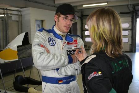 Jackie Weiss im Gespräch mit Maximilian Götz über den neuen ADAC Formel Masters