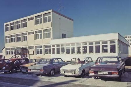 GARP-Standort Ostfildern-Ruit im Jahr 1973