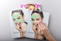 Mit aufmerksamkeitsstarken Effektfarben den Kunden dazu bringen sich mit dem Produkt auseinanderzusetzen. Stechen Sie heraus und holen dabei das Maximum an Response heraus. Wie hier mit Einsatz der cleancolor, als AdSpecial in Zeitschriften.