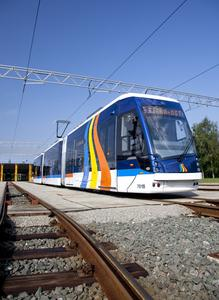 New low-floor tramcar with electrical equipment from Vossloh Kiepe