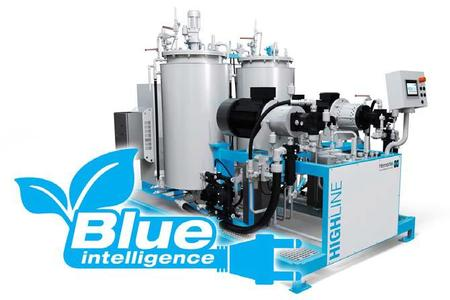 Blue Intelligence: clear reduction of energy costs in polyurethane high-pressure metering