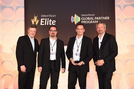 OpenText Elite Award Analytics