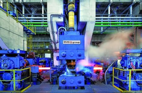 The new rolling mill will be designed to reach a maximum overall capacity of approx. 300,000 tons per year
