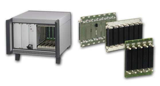 VPX-Desktopsystem und neue VPX-Backplanes