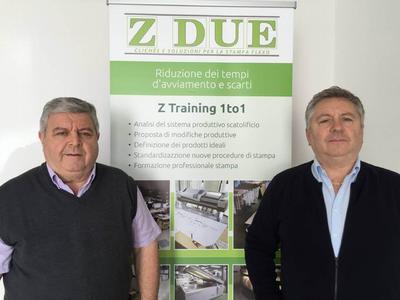(L-R)  Lorenzo Mingozzi and Andrea Mingozzi, owners of Z Due
