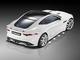 F Type V6 Coupe Heck Aufsicht