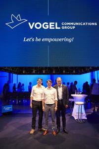 Die drei Geschäftsführer (v.li.) Günter Schürger, Matthias Bauer (Sprecher) und Florian Fischer, Foto: Benjamin Brückner