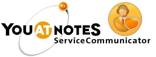 YouAtNotes ServiceCommunicator Visual