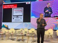 Alexander Gerfer, CTO bei der Würth Elektronik eiSos Gruppe, sprach auf der DLD Tel Aviv Digital Conference darüber, wie erfolgreich Digitalunternehmen mit einem innovativen Partner für Hardware an ihrer Seite sein können. Bildquelle: Würth Elektronik