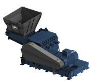 Herbold-Schneidmühle SB mit Zwangszuführung (Messeexponat SMS 80/160 SB)