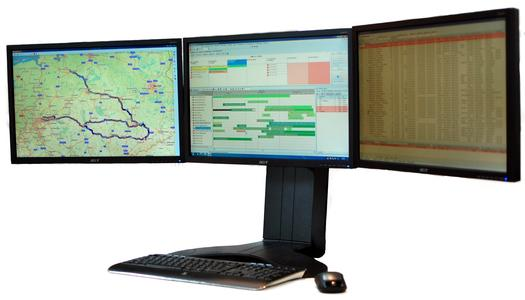 Arbeitsplatz mit C-Logistic: Alle Informationen auf einen Blick