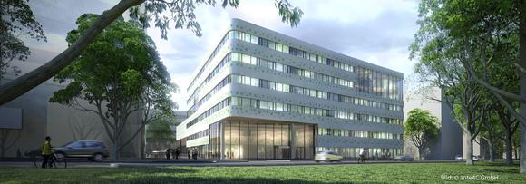 Außenansicht FIR Gebäude