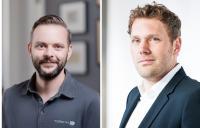 Sven Lachheim, CEO master PIM GmbH und Hans Elstner, CEO rooom AG