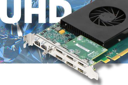 Simultane Videoerfassung von 4x HD oder 2x UDH (4K) und H.264 Codierung mit Matrox Clarity