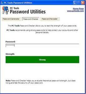 PC Tools Password Utilities