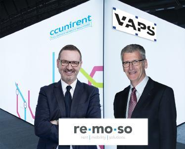 Jürgen Lobach, CCUnirent System GmbH (links) - Christoph Schwarz, VAPS GmbH (rechts)