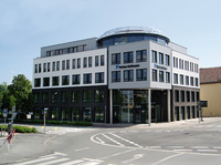 Das neue Bürogebäude der Ferber-Software GmbH am Konrad-Adenauer-Ring in Lippstadt