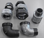 Durable marking of fittings