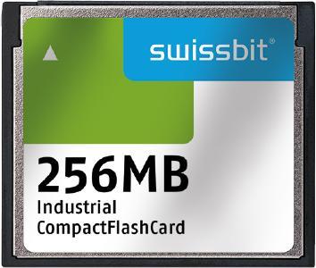 C-350-CompactFlash-Karten – nach wie vor gefragt in industriellen Anwendungen. Swissbit sorgt für Langzeitverfügbarkeit, Bildquelle: Swissbit