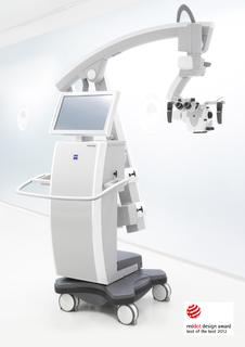 OPMI PENTERO 900 Surgical Microscope from Carl Zeiss Receives Prestigious red dot Award