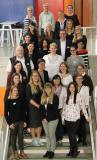Mentees, Mentorinnen und Mentoren, Projektbeteiligte von KarMen Plus des diesjährigen Durchgangs / © Hochschule Aalen/ Carolin Fischer