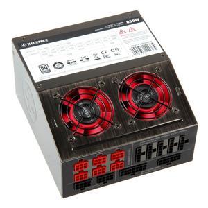Xilence XQ semipassives Netzteil, 80Plus Platinum, modular   850 Watt 2