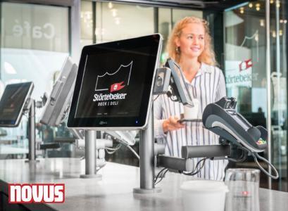 Novus Retail System Halterung Deck & Deli