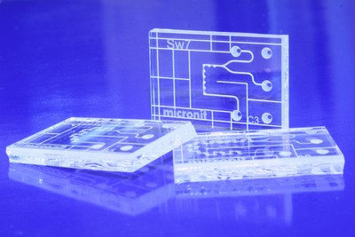 Efficient Mixing in Milliseconds with Lab-on-a-Chip